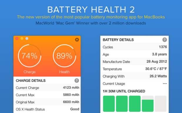 5 приложений для мониторинга и улучшения срока службы аккумулятора MacBook