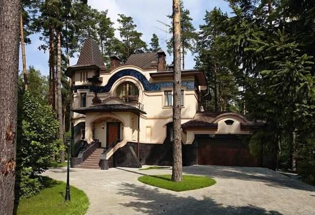 Архитектурные стили домов и коттеджей: как выбрать свое направление (131 фото)