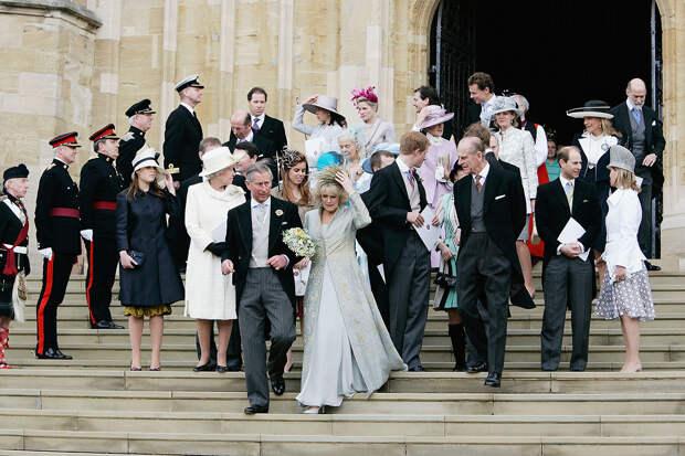 Бракосочетание принца Чарльз и Камиллы Паркер-Боулз 2005