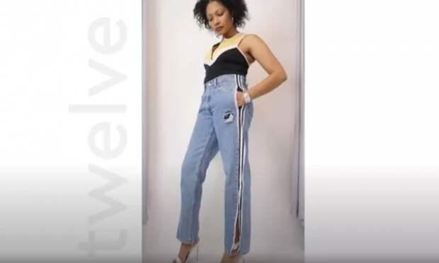 Креативные переделки джинсов