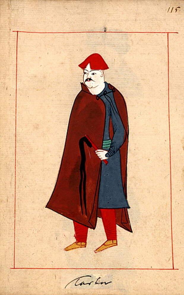 Татарин. commons.wikimedia.org - «Война двух царей»: последний аккорд | Warspot.ru