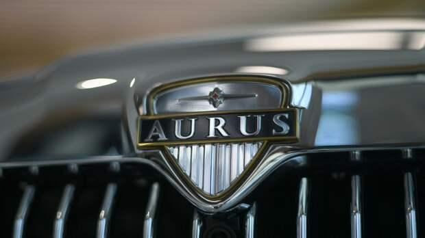 Автомобиль Aurus Senat в первом шоуруме по коммерческим продажам отечественных машин для первых лиц государства проекта Кортеж в деловом центре Москва-Сити - РИА Новости, 1920, 13.06.2021