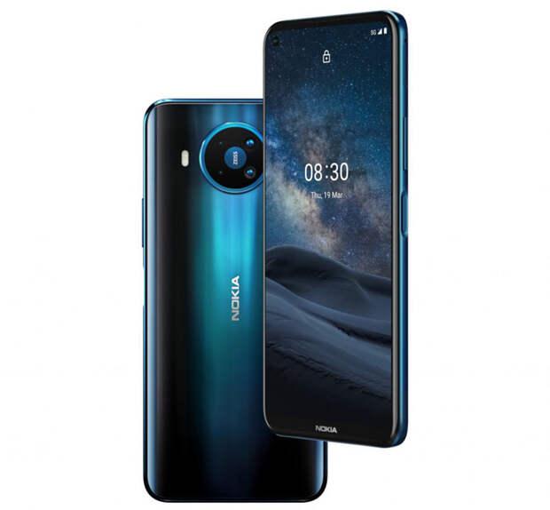 Смартфон Nokia 8.3 5G наконец-то представлен в Европе