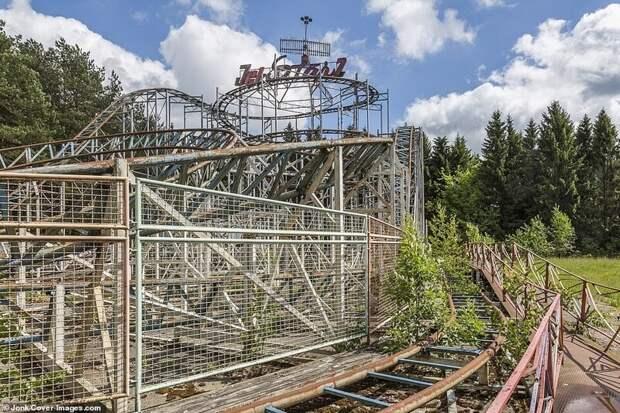 Покинутый парк развлечений в Литве