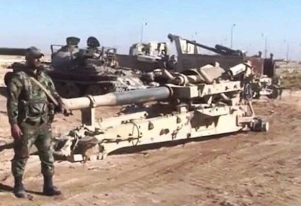 В Сирии у террористов отбита американская гаубица