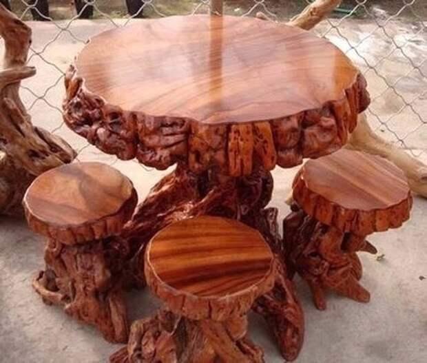 Креатив из дерева. Оцените работу