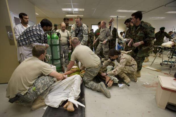 Не менее 10 военных США получили ранения, имитируя атаку против России