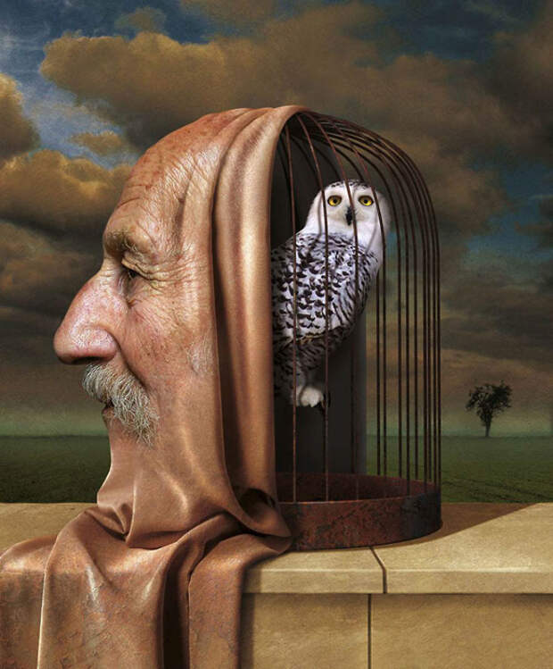 20 сюрреалистических иллюстраций, вскрывающих проблемы современного мира