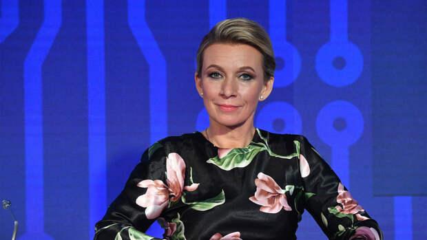 Захарова назвала заявление Зеленского в ОНН признаком плохого образования