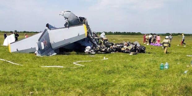 Девять человек погибли при крушении самолета в Кузбассе