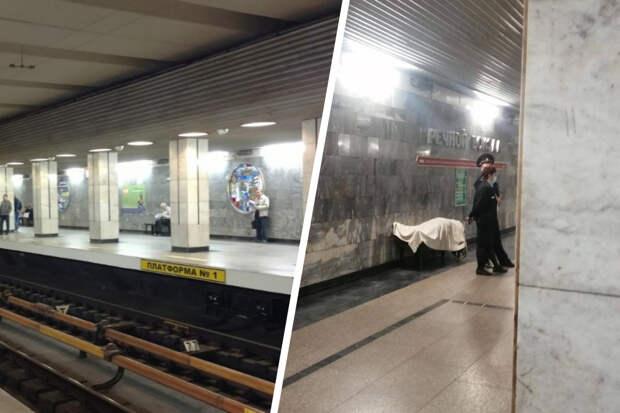 Пассажир умер на станции метро «Речной вокзал» в Новосибирске