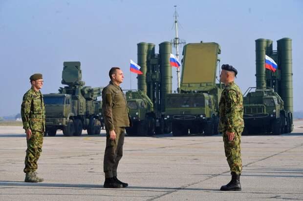 Российские системы ПВО в Сербии. Источник изображения: