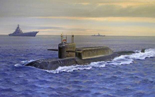Гибель 55 подводных ракетоносцев без войны или интервенции