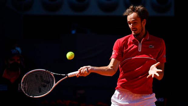 Даниил Медведев поднялся на вторую строчку в рейтинге АТР