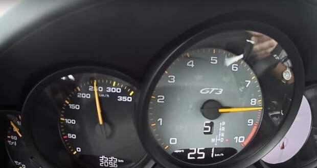В сердце бури: разгон и звук нового Porsche