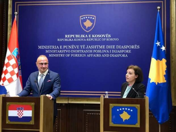 Хорватия вознамерилась построить военную базу в Косово