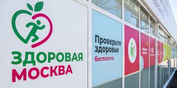 Собянин: Летом в парках столицы будут работать 46 павильонов «Здоровая Москва» Фото: М. Мишин mos.ru