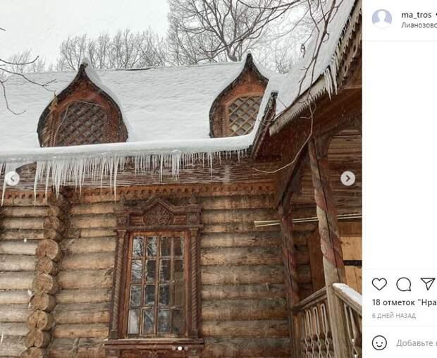 Фотокадр: сказочный зимний терем в Лианозове