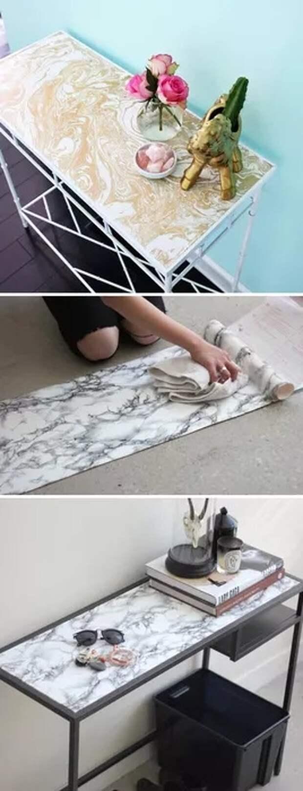 Экспресс-ремонт стен и мебели (подборка)