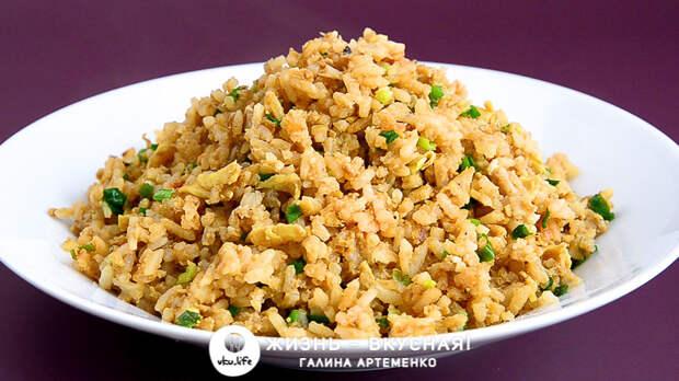 Жареный рис: 3 рецепта на каждый день