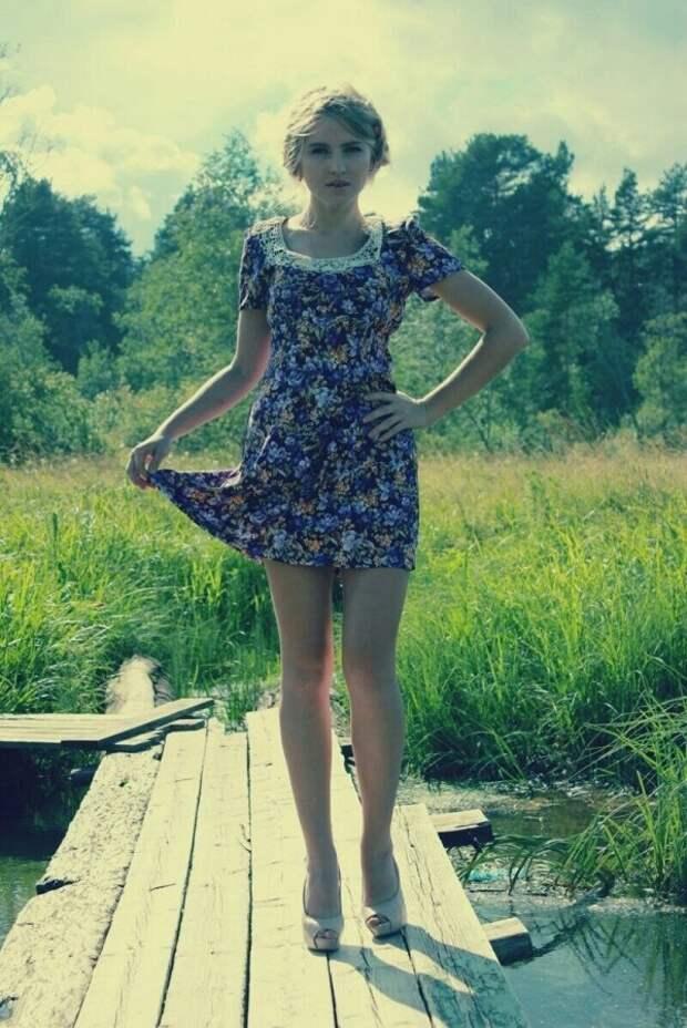 Неотразимые девушки, которым так идут эти природные пейзажи