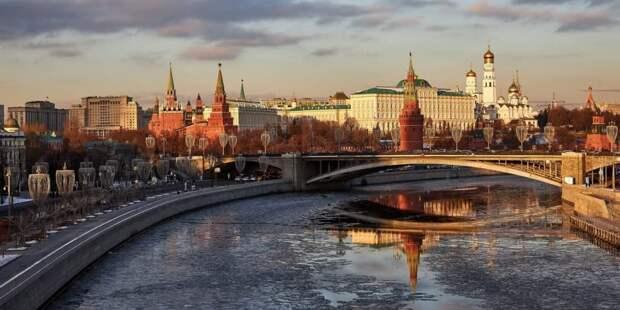 Путин и Собянин посетили праздничный концерт «Дни Крыма в Москве». Фото: М. Денисов mos.ru