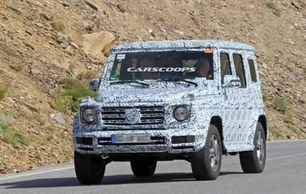 Новый Mercedes-Benz G-класса: через год!
