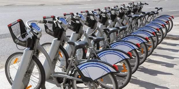 Станции велопроката в Левобережном откроются уже в апреле