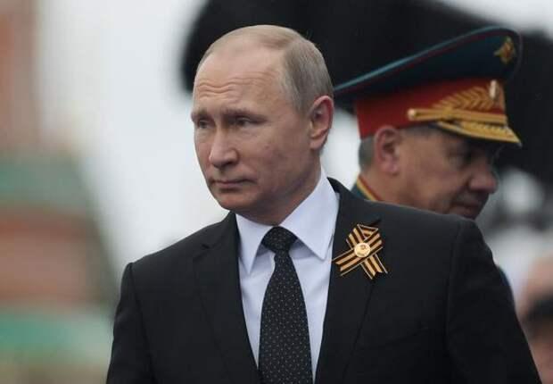 Владимир Путин не стал поздравлять с праздником Победы политическое руководство Украины и Грузии