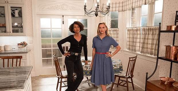 Риз Уизерспун делит территорию с Керри Вашингтон в трейлере сериала «И повсюду тлеют пожары»
