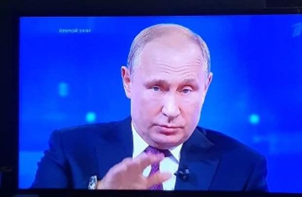 «Что мне очень не понравилось в Прямой линии с Путиным»