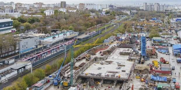 Весь восточный участок БКЛ планируют достроить в 2022 году / Фото: mos.ru
