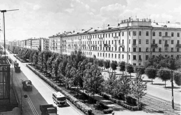 Самара, улица Победы, 60-е