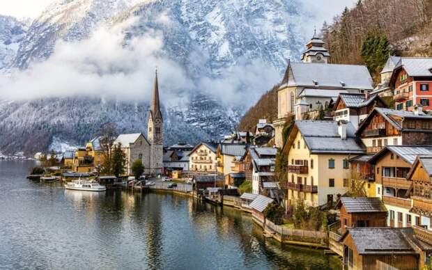 8 необычайно красивых городков, похожих на декорации к сказкам