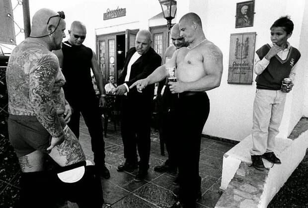 Реальные британские бандиты в жестком фотопроекте Джослина Бэйна Хогга