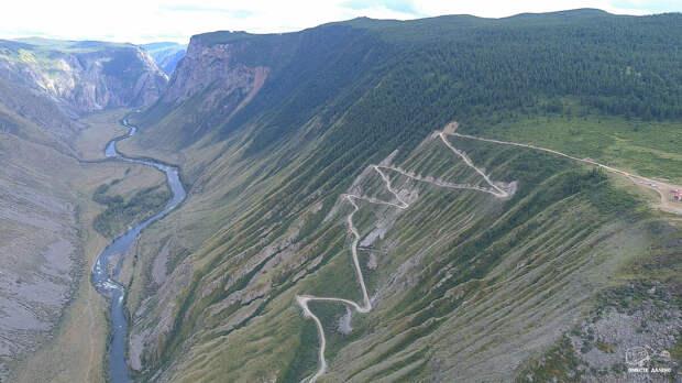 Самый опасный перевал Алтая в кавычках
