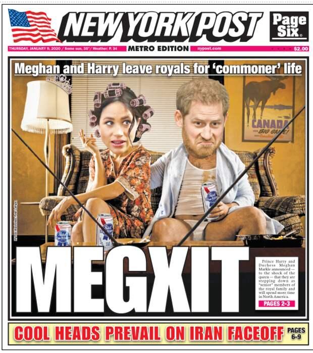 Шокирующие подробности ежедневных ссор Меган и Гарри опубликовали австралийские сми