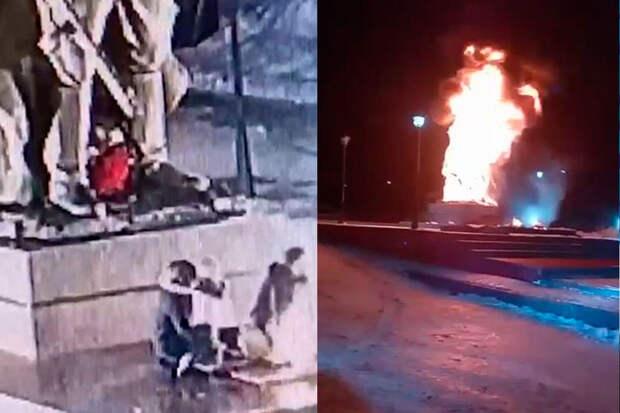 Подростки спалили «огнеупорный» памятник Воину-Освободителю вТатарстане