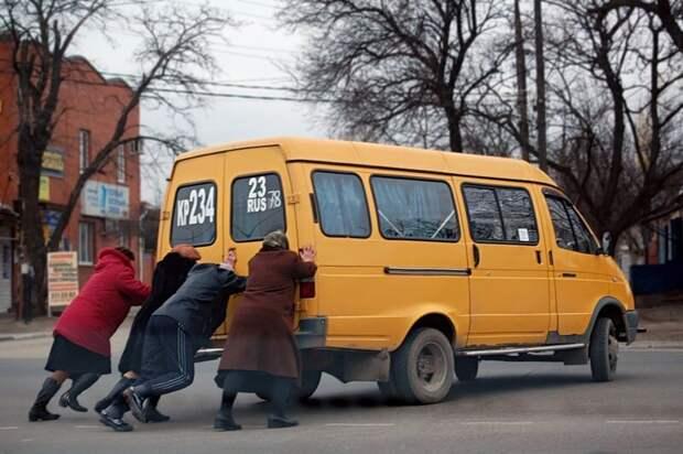 Как эстонцев удивили российские маршрутки