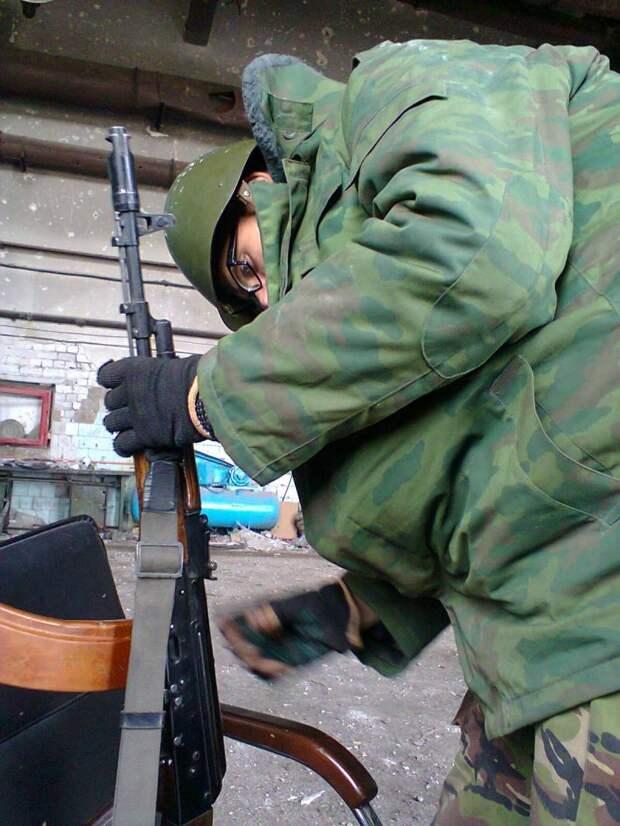 В Донецке обещают позаботиться об ополченцах
