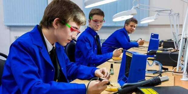 Собянин открыл детский технопарк «Менделеев Центр». Фото: mos.ru