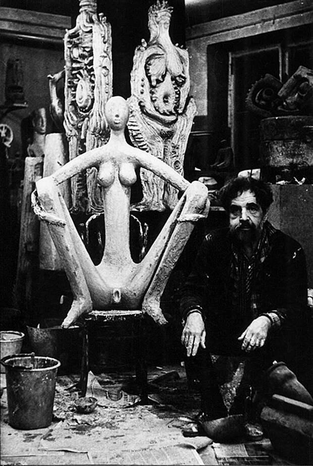 Вадим Сидур: первый скульптор СССР, делавший инсталляции из мусора