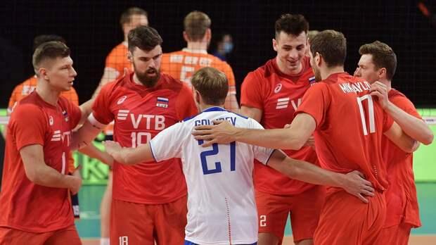 Россия уверенно начала защиту титула в Лиге наций. Голландцев тащил капитан, но этого было мало