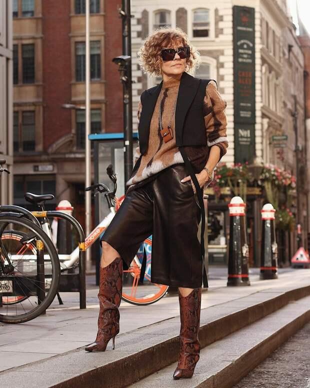 7 брюк для женщин за 50, которые добавят образу элегантности, а фигуре стройности