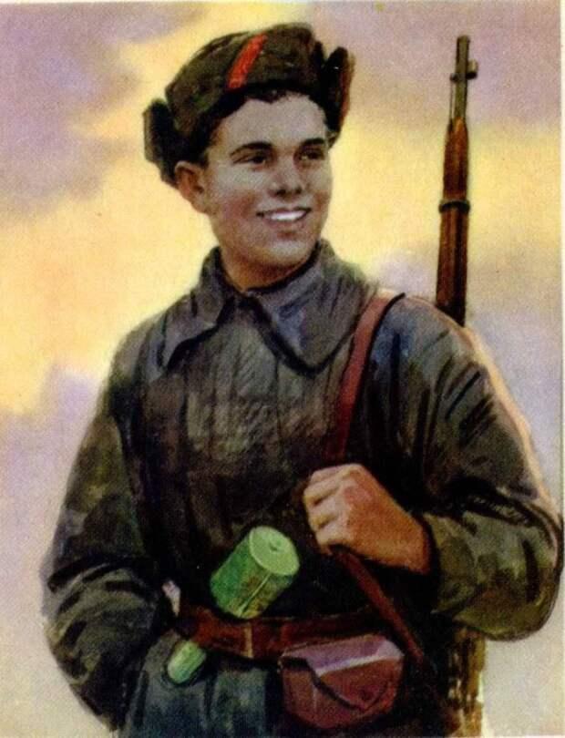 Подвиг 15-летнего партизана Саши Бородулина