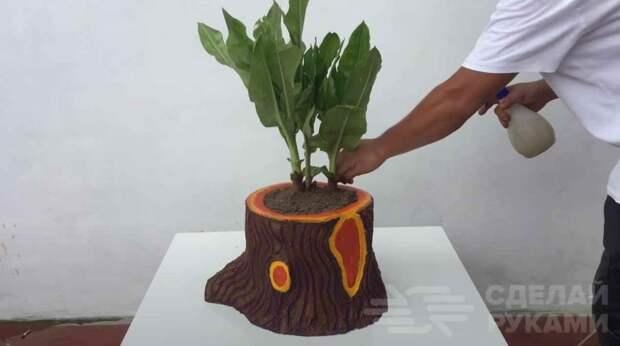 Делаем классный садовый декор из пенопласта