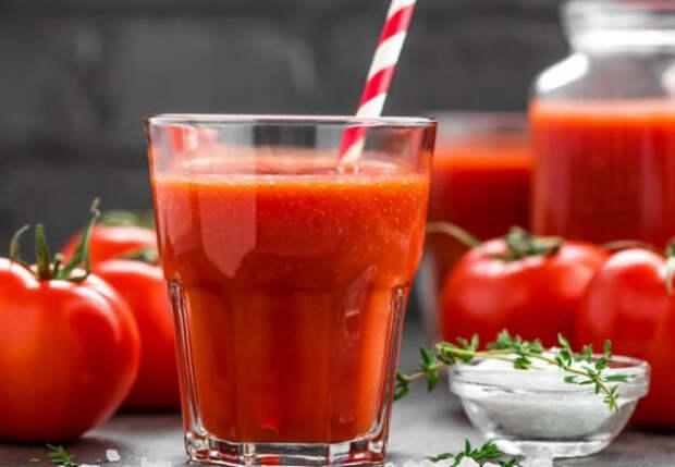 Как сделать томатный сок вкуснее