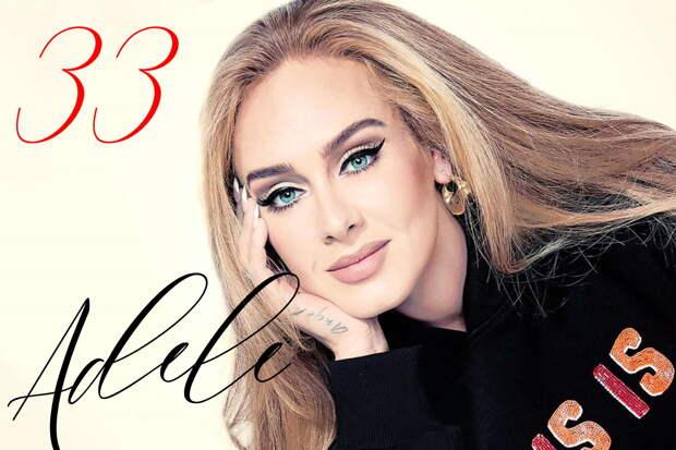 """""""Легенда"""" – Адель поделилась новыми фото в честь своего 33-летия"""
