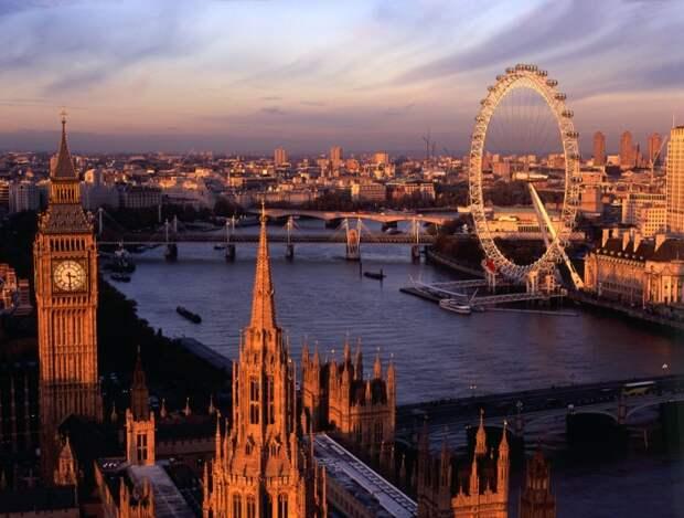 Лондонская панорама - лакомый кусочек для туристов. /Фото: stogorodov.ru