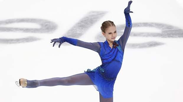Трусова победила Медведеву наГран-при России, несмотря надва падения. Саша— вфинале серии